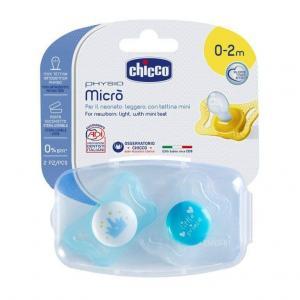 Пустышка  Micro Ортодонтическая силикон, с рождения Chicco