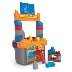 Конструктор  Рабочее место маленького строителя Mega Bloks