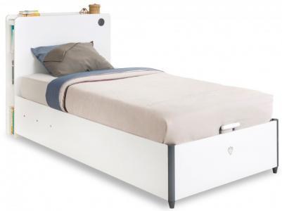 Подростковая кровать  White с подъемным механизмом 200х100 Cilek