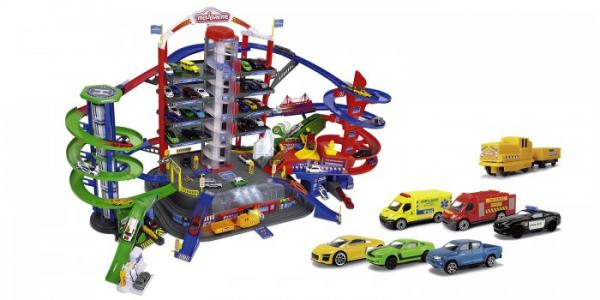 Парковка Супер город 7 уровней Majorette