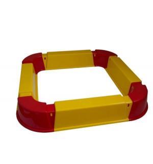 Песочница  Из модулей, цвет: красный/желтый PicnMix