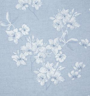 Комплект постельного белья  нав. 70х70 см, цвет: серый/сиреневый Василиса