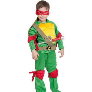 Карнавальный костюм  Ниндзя Черепашка. Рафаэль Карнавалофф. Цвет: разноцветный