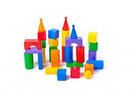 Развивающая игрушка  Строительный набор Стена-2 30 элементов СВСД