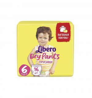 Трусики  Dry Pants 6 (13-20 кг) 16 шт. Libero
