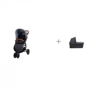 Прогулочная коляска  Snap Trend и люлька External Bassinet для Trend, 4 Ultra Valco baby