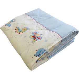 Одеяло  Ласовое лето голубое Soni Kids. Цвет: голубой