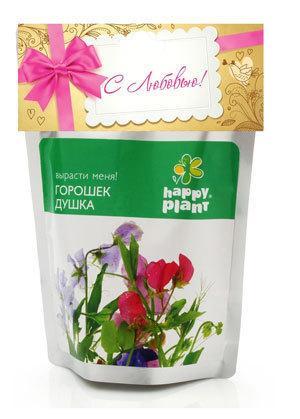Набор для выращивания Горошек душка Happy Plant