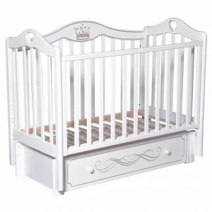 Детская кроватка  Karolina 9 универсальный маятник Кедр