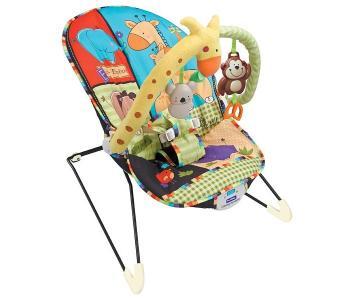Кресло-качалка с игрушками и вибрацией Animal Paradise 8614 FitchBaby