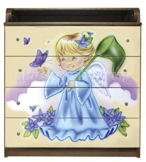 Комод  Ангелочек пеленальный (4 ящика) Влана