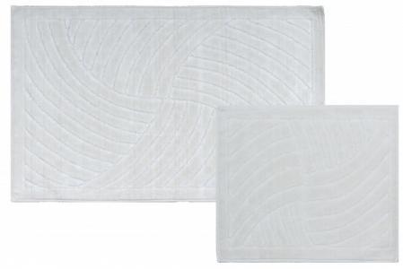 Naturale Mulinello Комплект ковриков для ванной комнаты хлопковый 60х100 см 2 шт. Castafiore