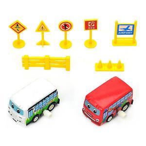 Игровой набор с машинками  Автобусный тур Bebelot. Цвет: разноцветный