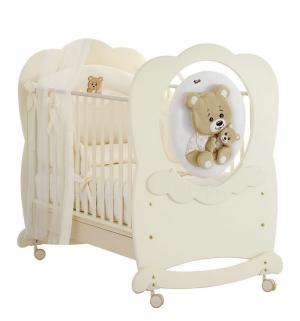 Детская кроватка  Abbracci-Trudi, цвет: кремовый Baby Expert