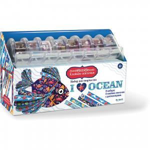 Я люблю океан Набор для творчества с клейкими ленточками Чудо-Творчество