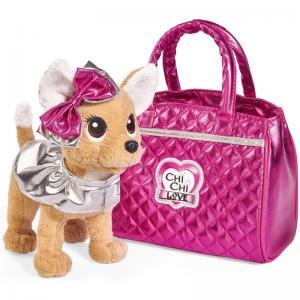Мягкая игрушка  Chi-Chi Love Гламур с розовой сумочкой 20 см Simba