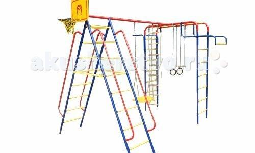Детский спортивный комплекс дачный+качели ЦК Пионер