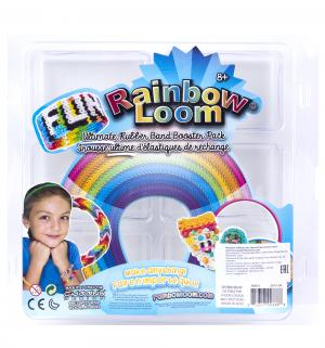 Контейнер для хранения  резиночек плетения 6 отделений Rainbow Loom
