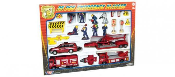 Игровой набор Спасатели MotorMax