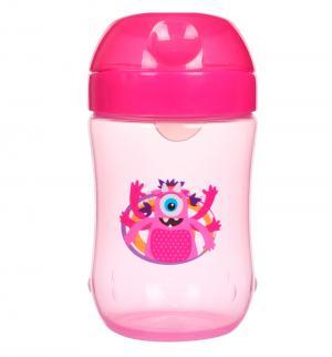 Чашка-непроливайка Dr.Browns с мягким носиком, от 9 мес, цвет: розовый Dr.Brown's