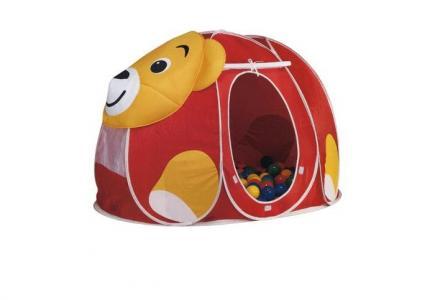 Дом-палатка + 100 шаров Мишка Calida
