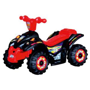 Электроквадроцикл  Power, красно-черный Bugati