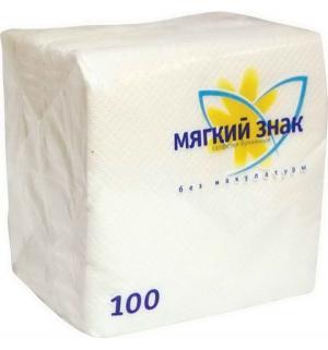 Салфетки для ежедневной гигиены  Мягкий знак, 100 шт Deluxe