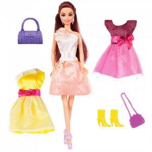 Набор Кукла Ася Стильные цвета Брюнетка Toys Lab