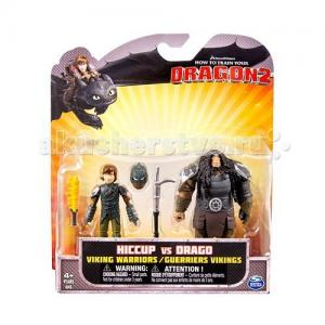 Игрушка  2 фигурки героев Dragons
