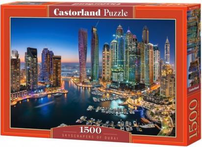 Пазл Небоскребы Дубая (1500 элементов) Castorland