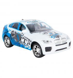 Машинка  BMW, цвет: синий 18 см Пламенный мотор