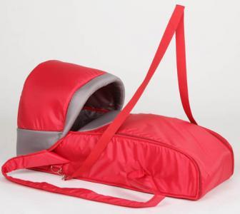 Люлька-переноска  Кокон 5605-2, цвет: красный Фея