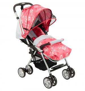 Прогулочная коляска  S-12, цвет: красный/серый Corol