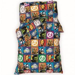 Постельное белье  1.5 спальное Avengers (3 предмета) Marvel