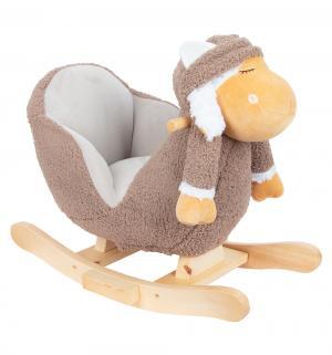 Качалка-игрушка  Ослик, цвет: серый Leader Kids