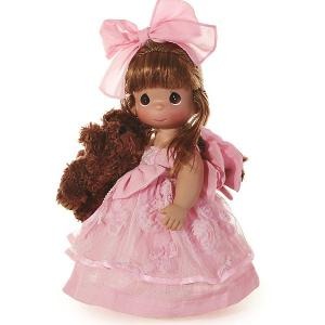 Кукла  Сны о плюшевом медведе, 30 см Precious Moments