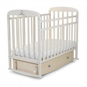 Детская кроватка  Милана маятник поперечный с ящиком СКВ Компани