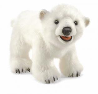 Мягкая игрушка  Полярный медвежонок 35 см Folkmanis
