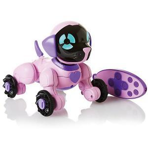 Робот на р/у  Собака Чиппи, розовая WowWee. Цвет: розовый