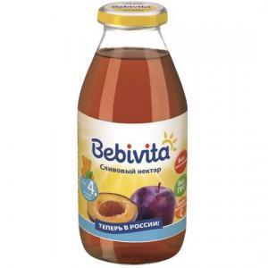 Нектар  слива, 200 мл Bebivita