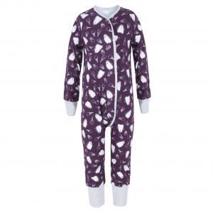 Комбинезон  Пингвины, цвет: фиолетовый Bambinizon