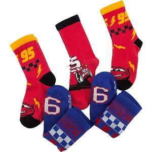 Носки , 5 пар Disney. Цвет: красный