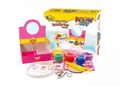 Игровой набор массы для лепки Jewerly Box Angel Clay
