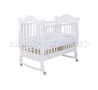 Детская кроватка  качалка Finestra 120х60 Papaloni