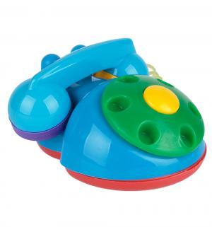 Развивающая игрушка  Телефон синий-зеленый-красный Аэлита