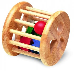 Деревянная игрушка  Сортер-погремушка Wonderworld