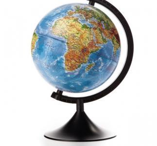 Глобус Земли физический 210 серия Классик Globen
