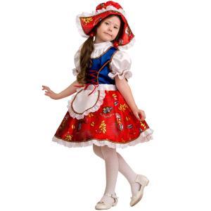 Карнавальный костюм  Красная шапочка Батик