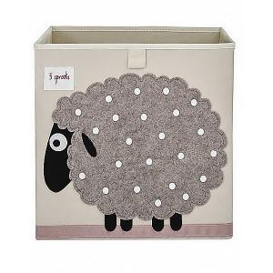 Коробка для хранения , Овца 3 Sprouts. Цвет: серый