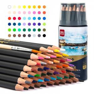 Карандаши цветные акварельные в металлическом тубусе Nuevo 48 цветов Deli